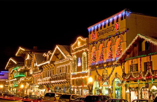 Leavenworth Christmas 2021 Christmas Lighting Festival Leavenworth Washington Usa